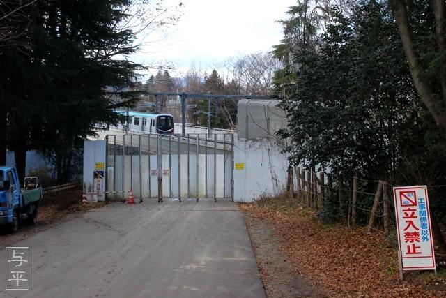 仙台市地下鉄東西線・大町西公園と仙台国際センター駅の間・画像