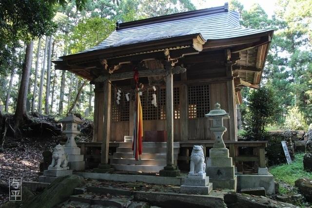 13 96 鹿島天足別神社(大亀明神)、亀石、宮城県大郷町、大亀山森林公園、画像.jpg