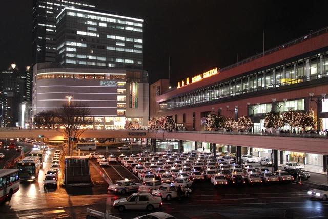 仙台駅のイルミネーション・画像・2010年12月・宮城県仙台市青葉区・与平仙台人が仙台観光をしてるブログ