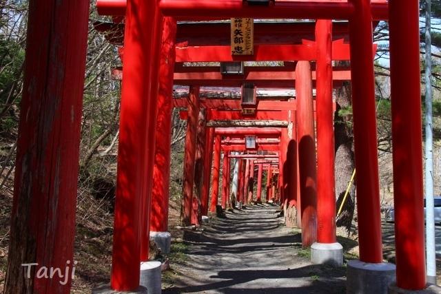 02 96 萬蔵稲荷神社、鳥居、宮城県白石市、画像、Tanji.jpg