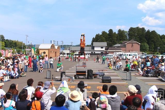 とおがった大道芸・遠刈田温泉・蔵王町・宮城県・画像・仙台人が仙台観光をしてるブログ・与平・jpg