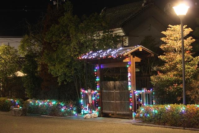 史白石駅前商店街通りのイルミネーション・宮城県白石市・画像・与平仙台人が仙台観光してるブログ