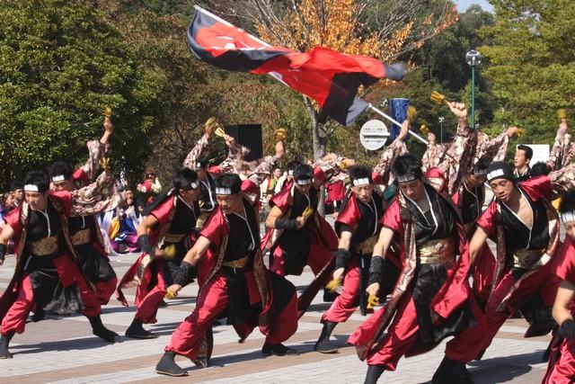 みちのくYOSAKOIまつり2011・地下鉄旭ヶ丘駅会場・画像・仙台人が仙台観光をしてるブログ・与平